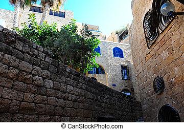 Jaffa  - Area Of Old Restored Jaffa On a Sunny Day