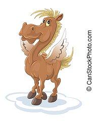 """Pegasus - Vector file """"Pegasus"""""""