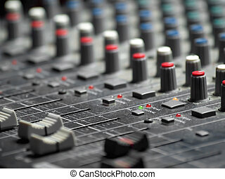 mixing - Sound mixer, shallow DOF, usful for various music...