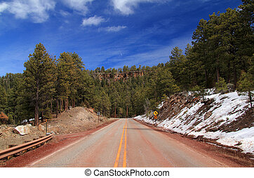 High Road to Taos Landscape - Scenic Landscape along the...