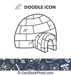 Igloo doodle