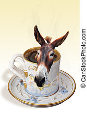 Donkey in your coffee - Coffee time.