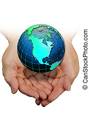 World Globe - The world in your hands.
