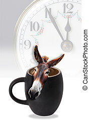 Donkey in your coffee - Coffee time
