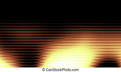 Abstract Wavy particle Background on the black