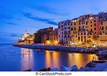 Portovenere in Cinque Terre - Italy - architecture...