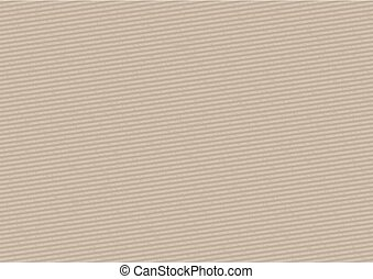 Cardboard Stripped Background with Grunge Pattern -...