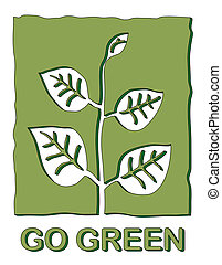 Go Green - Go green, Icon