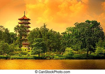 Singapore pagoda