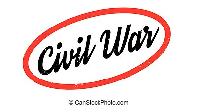 Civil War rubber stamp. Grunge design with dust scratches....