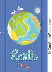 Poster Dedicated to the Earth Day Celebration - Earth Day...