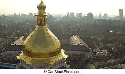 Cathedral of the Assumption of the Blessed Virgin with city...