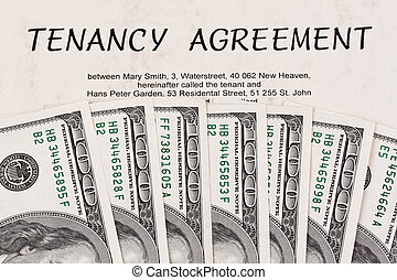 Dollar Currency notes and lease-English