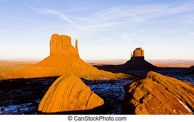 The Mittens, Monument Valley National Park, Utah-Arizona, USA