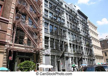 USA, New York, Greene Street, Soho - America, USA, New York,...