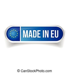 Made in Eu - European Union button