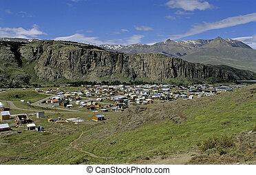 El Chalten in Patagonia, national park Los Glaciares