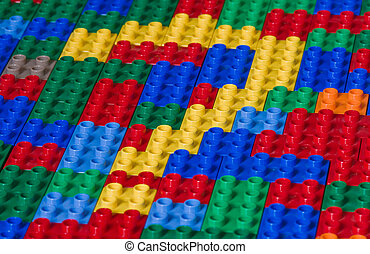 Questionmark from toy bricks - A symbol of a Questionmark...