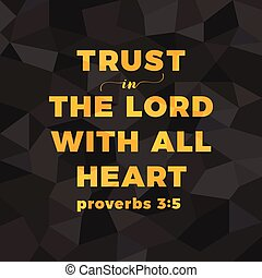 bible verse for christian or catholic about trust in god...