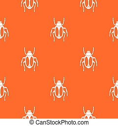 Dung beetle pattern seamless - Dung beetle pattern repeat...