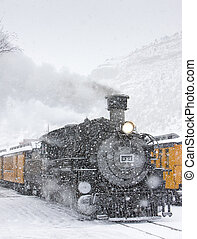 Durango and Silverton Narrow Gauge Railroad, Colorado, USA