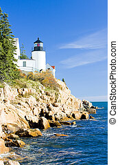 Bass Harbor Lighthouse, Maine, USA