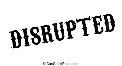 Disrupted rubber stamp. Grunge design with dust scratches....