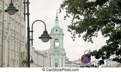 Bell tower in Moscow - Bell tower of Church of Beheading of...