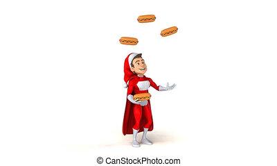 Super Santa Claus - 3D Animation