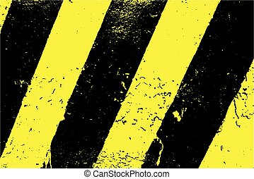 Black And Yellow Stripes - Grunge Black And Yellow Stripes...