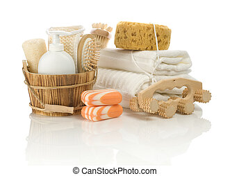 group of  bathing articles