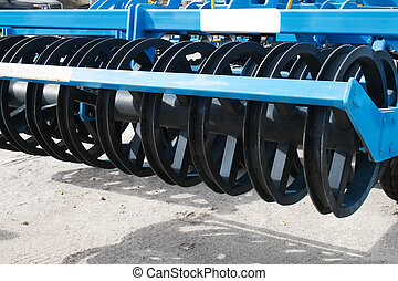 Agricultural cultivator, farm equipment - Agricultural...