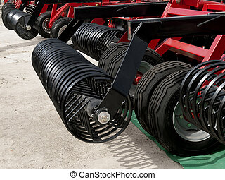 Agricultural cultivator , farm equipment