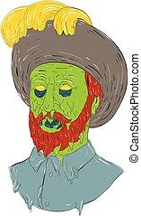 Marquis Conquistador Grime Art - Grime art style...