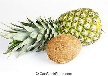 pineapple and coconut