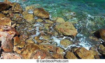 Rocks Stones in Seaside
