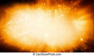 Light particles energy looping science fiction abstraction...