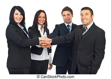 United group of business people
