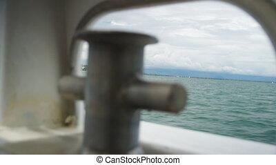 The blue horizon view
