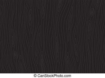 Dark wooden texture. Vector wood background - Dark wooden...