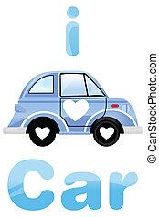 i love car