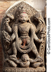 hindu god vishnu sculpture - vishnu stone sculpture at...