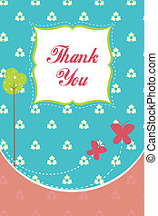 thank you card - easy way for expressing thankfulness...