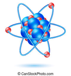 atom molecule - illustration of atom molecule