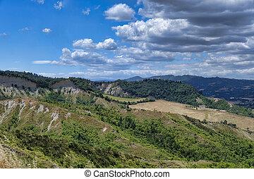 Landscape near Bologna at summer (Sabbiuno) - Sabbiuno...