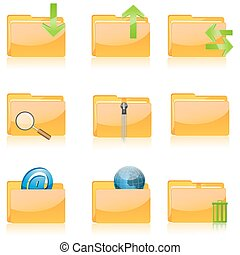various file icons