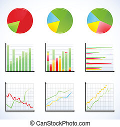 different graphs - illustration of different graphs