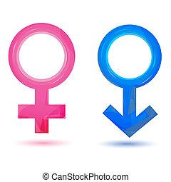 sexo, ícones