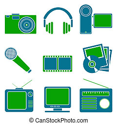 entertainment symbols