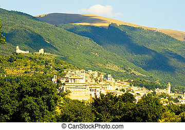 Assissi - Italian home of St Francis - Francis of Assisi, a...